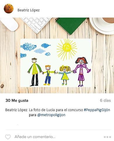 Concurso Peppa Instagram